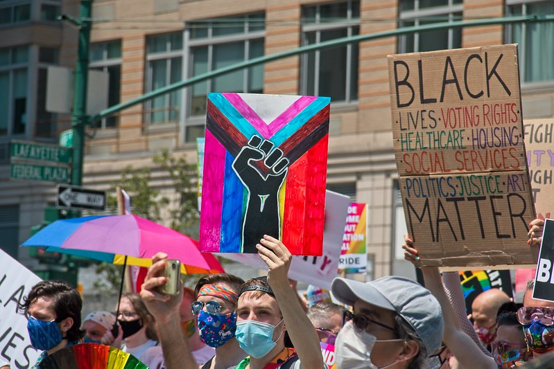 Queer Liberation March/BLM