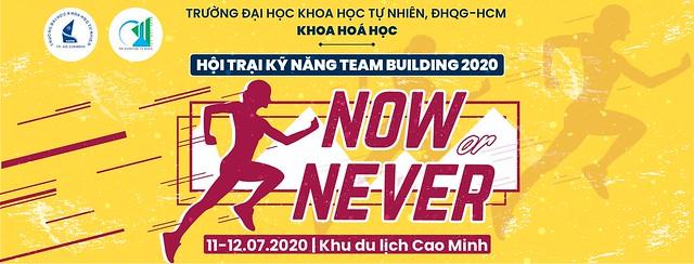 Thông báo dời địa điểm tập trung Hội trại kỹ năng Teambuilding làn 1 năm 2020