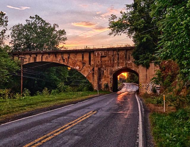 Cumberland Valley Railroad Bridge, Scotland PA
