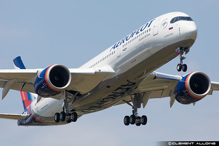Aeroflot - Russian Airlines Airbus A350-941 cn 428 F-WZFR // VQ-BXA