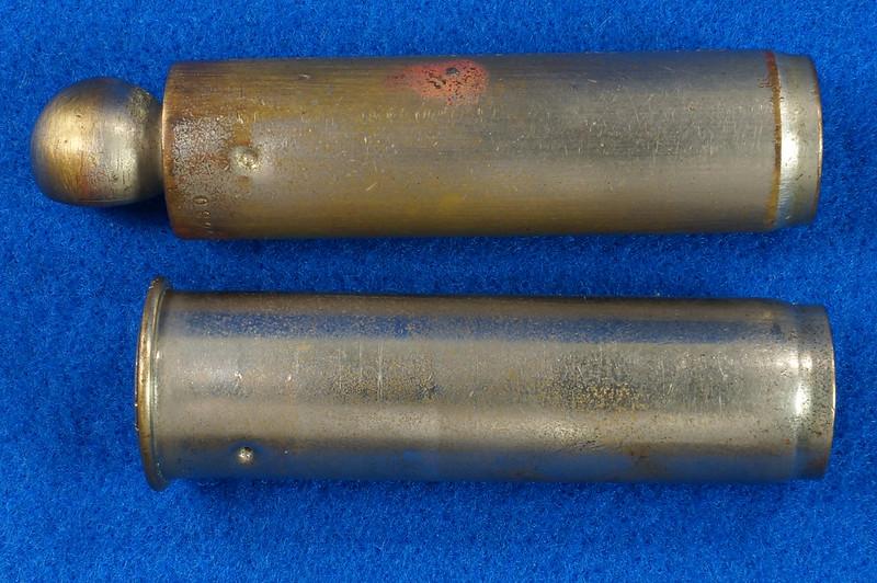 RD18799 2 Antique Schrader Balloon Tire Pressure Gauges Patented 1909 & 1923 DSC08474