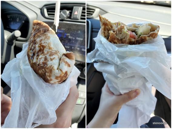 Chicken Shawarma Laffa