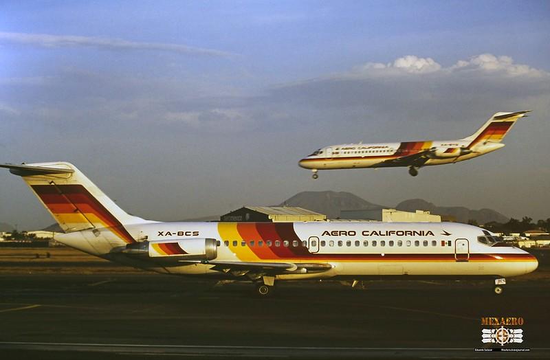 Aero California / McDonnell Douglas DC-9-14 / XA-BCS