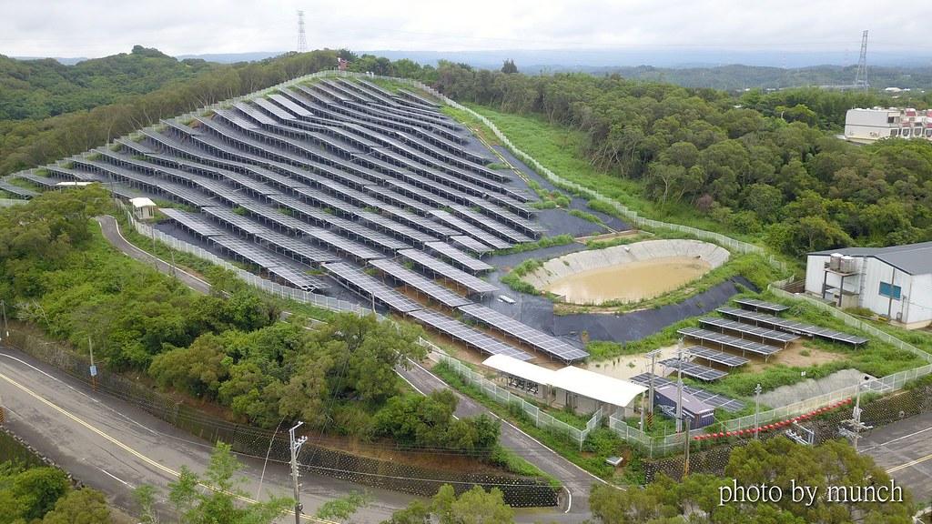 苗栗山坡地光電雖有水保計畫,仍引發水保與棲地切割的議論。圖片提供:漂浪島嶼