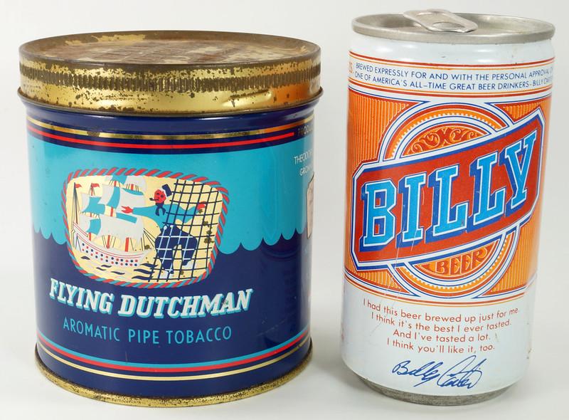 RD16115 Vintage FLYING DUTCHMAN Tobacco Tin - Made in Holland - 7 oz. DSC08515