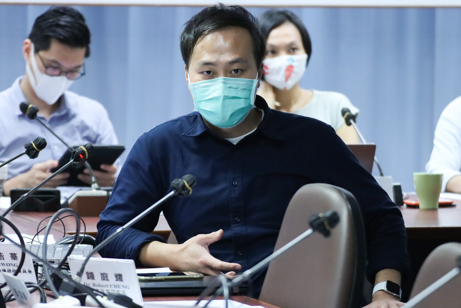 香港開放數據諮詢委員會代表 黃浩華