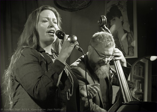 Amy McConnell, Vocals. Kensington Jazz Festival, September 2019.