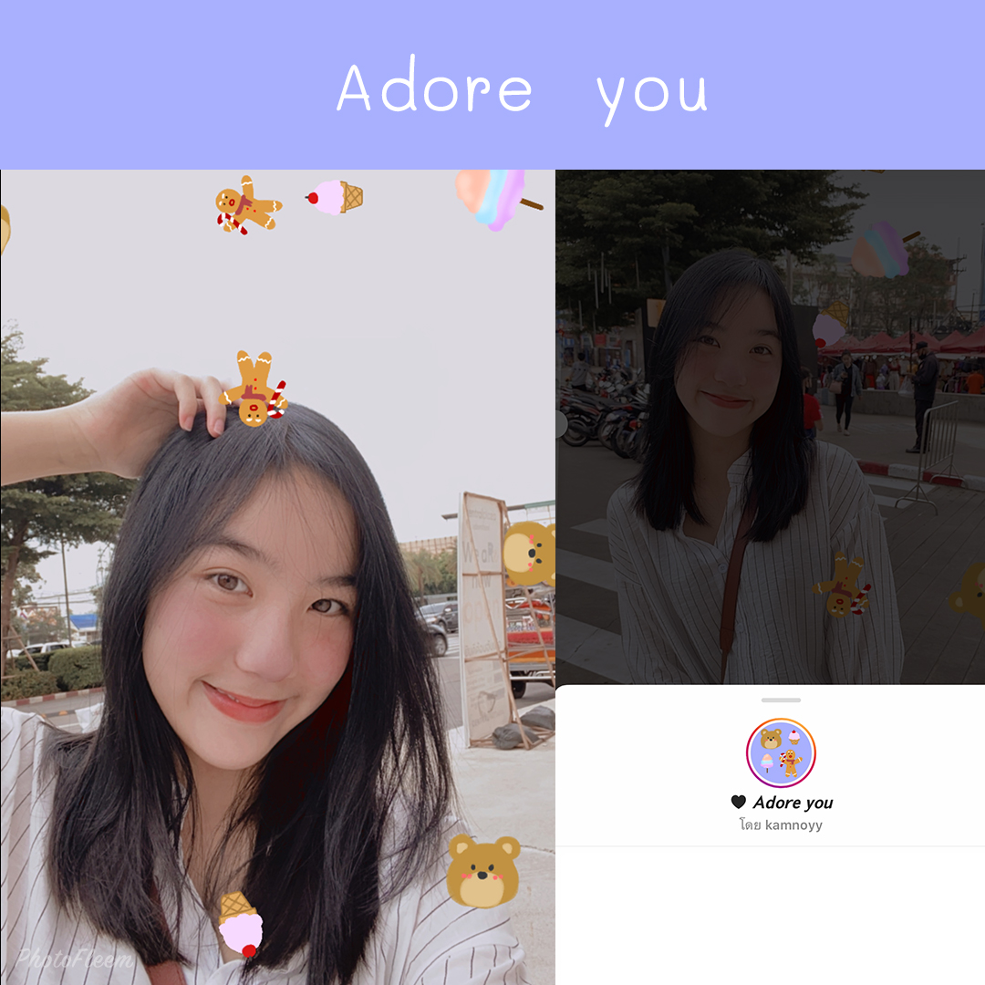 IG filter Adore you