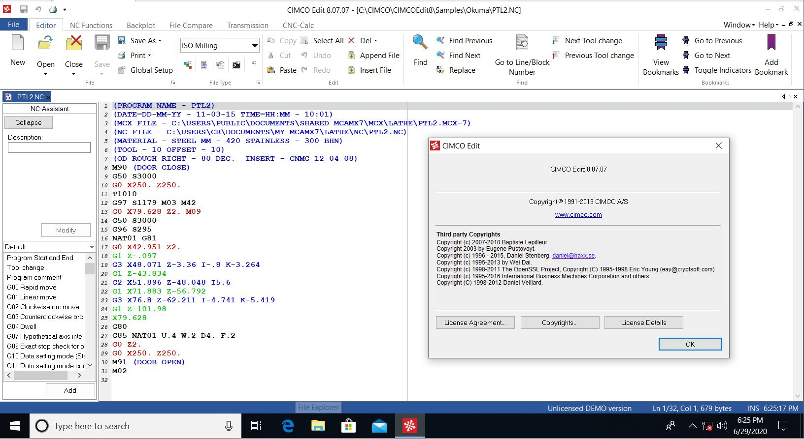 Working with CIMCO Software 8.07.07 full license