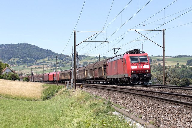 DB Cargo 185 093 Frick (CH)