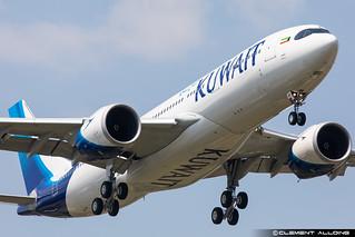 Kuwait Airways Airbus A330-841 cn 1964 F-WWYU // 9K-APF