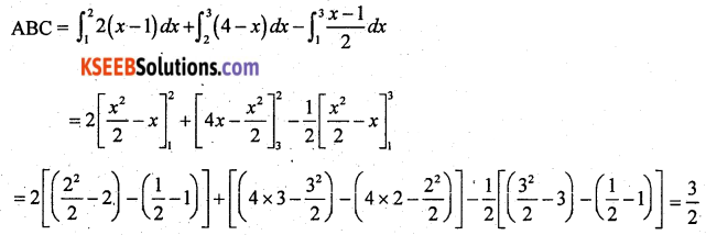2nd PUC Maths Previous Year Question Paper March 2018 Q45