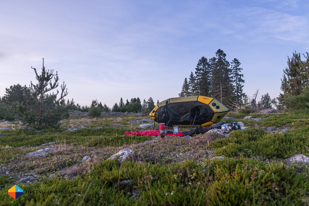 Camp on Sondasören