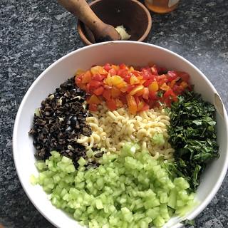 salade de pâtes aux légumes d'été5