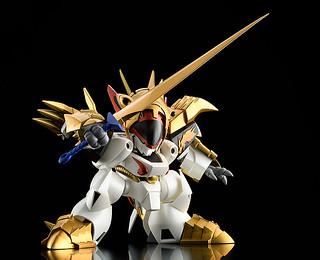 全魔神鋼衣可合體成皇帝龍!PLAMAX MS-07《真魔神英雄傳》鋼衣龍王丸 組裝模型
