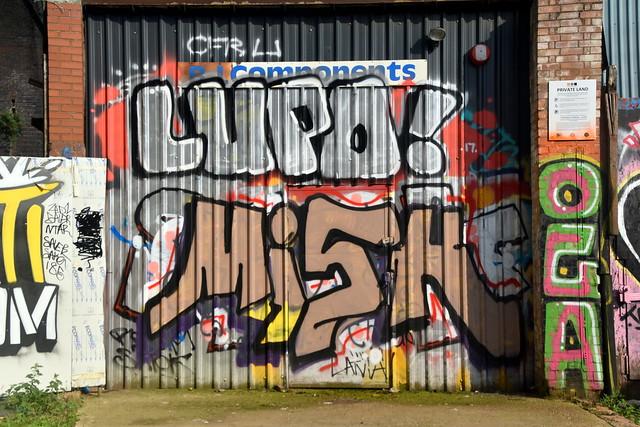 Spray Painting, Digbeth, Birmingham