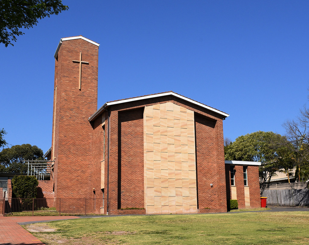 Anglican Church, Caringbah, Sydney, NSW.