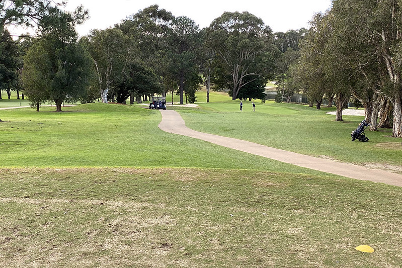 Hole 3, North Ryde Golf Club