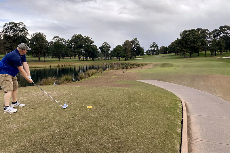 Hole 2, North Ryde Golf Club