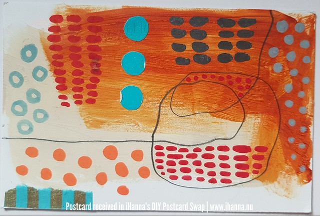 DIY Postcard for iHanna made by Cindy, Canada