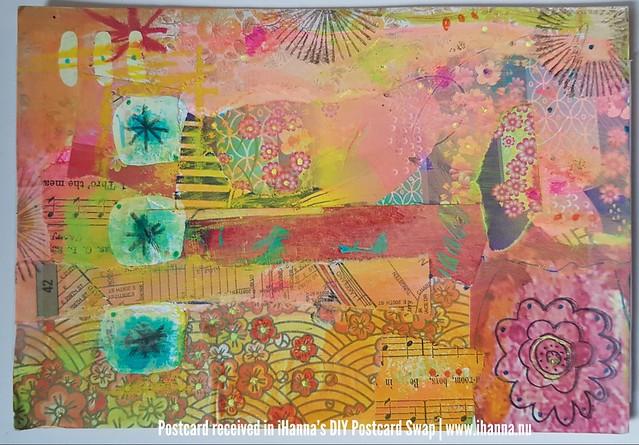 DIY Postcard for iHanna made by Kathy, Ohio, US