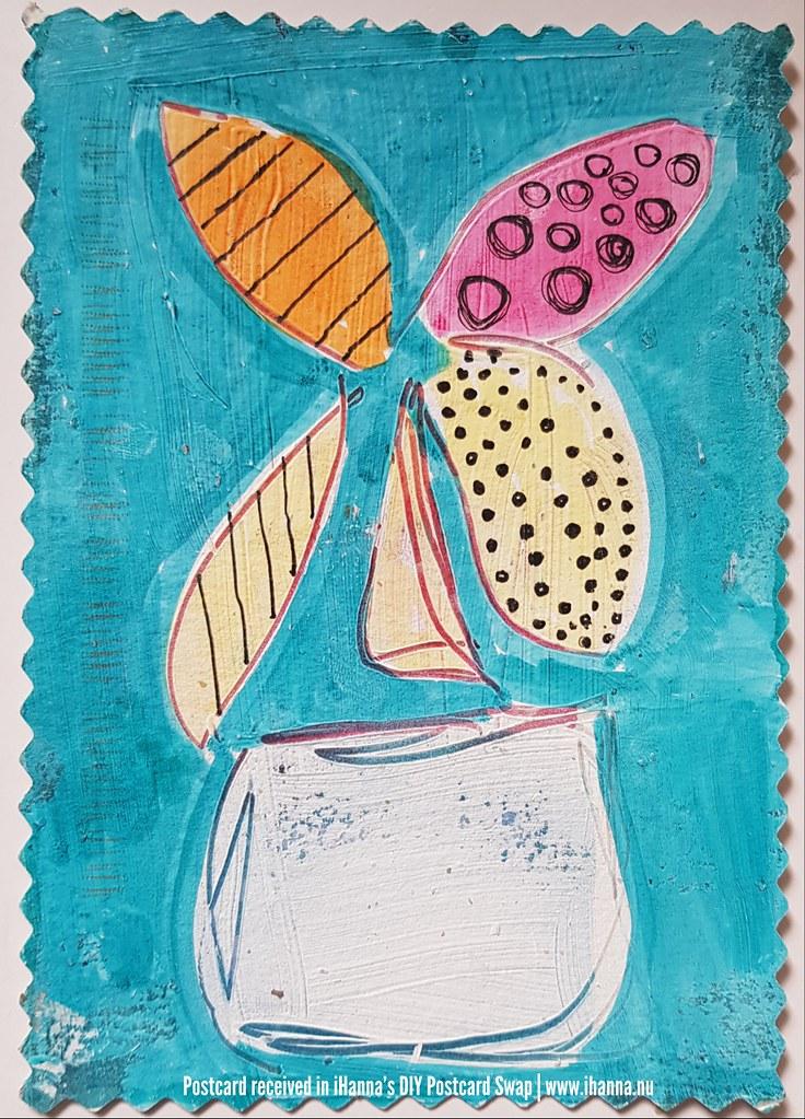 DIY Postcard for iHanna made by Gloria C, US