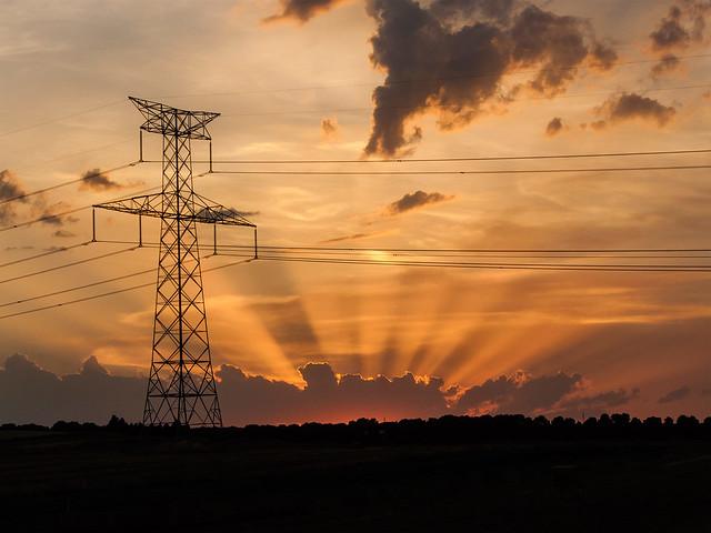 Steel sunset / Atardecer de acero