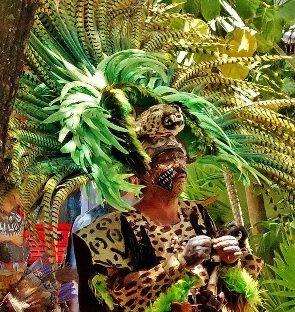 MEXICO, Mayastätte Tulum, Am Eingang -