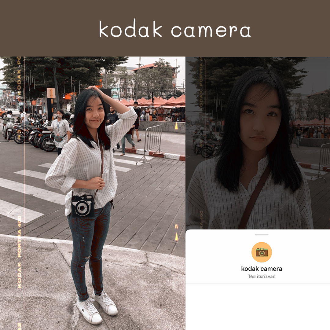 IG filter kodak camera