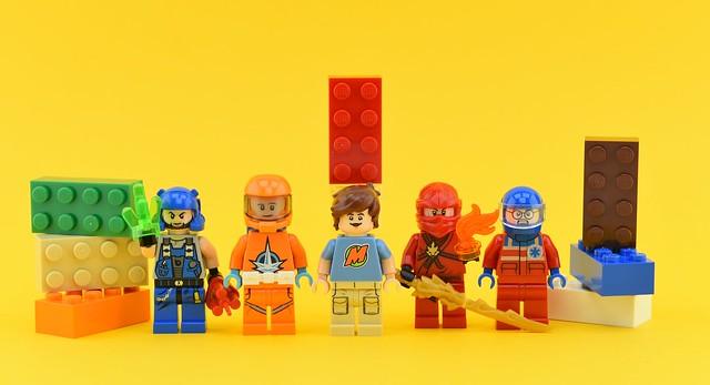 Random minifigs #18 : LEGO characters