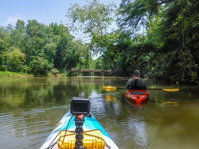 Saluda Lake and Saluda River