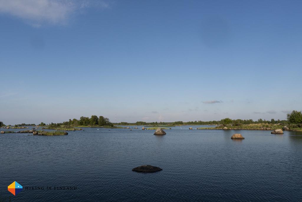 Views at Långgrund towards Svedjehamn