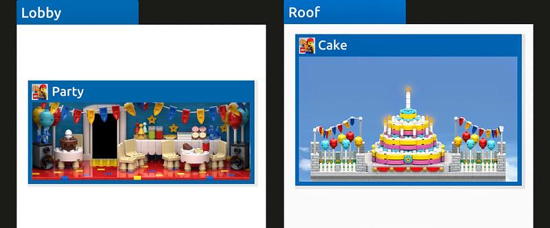LEGO Tower Birthday