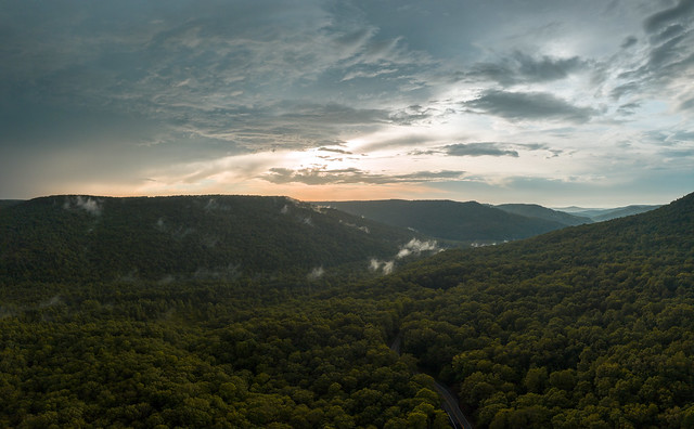 Sunset, Haston Point, Van Buren County, Tennessee 1