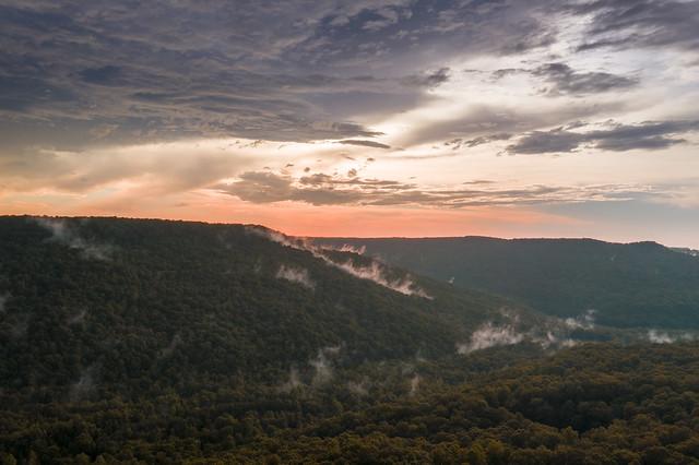 Sunset, Haston Point, Van Buren County, Tennessee 2
