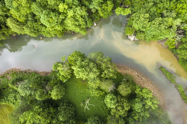 Crusher Hole, Cane Creek, Fall Creek Falls SP, Van Buren County, Tennessee