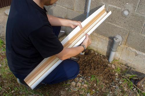 水道管の保温チューブ