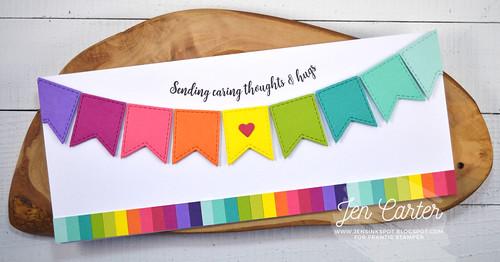 Jen Carter Rainbow Banner