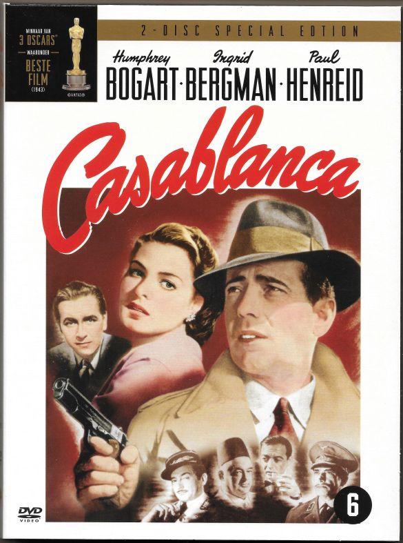 CasablancaMichaelCurtizHumphreyBogartIngredBergmanClaudeRainsPeterLorre