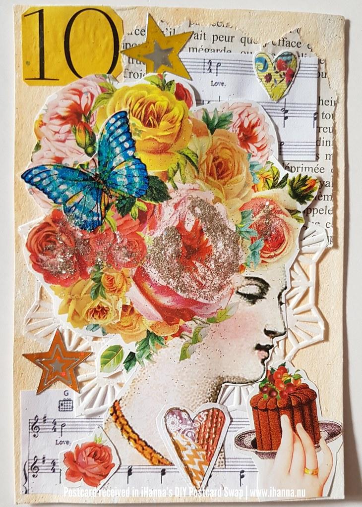 DIY Postcard for iHanna made by Dori, Canada