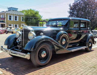 1934 1103 Packard Super 8 Club Sedan