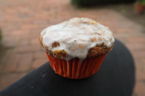 Möhren-Haselnuss-Muffin