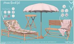 Mari's Beach Set MERAK Deco(c)rate Special Edition