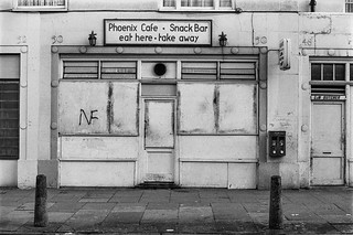 Phoenix Cafe, Chalton St, Somers Town, Camden, 1987 87-2a-64-positive_2400