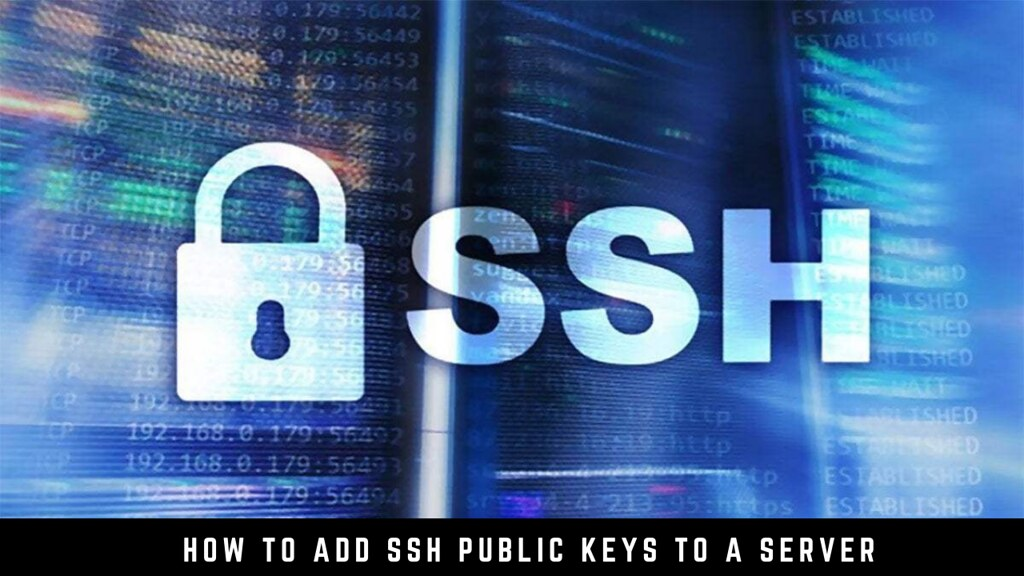 How to Add SSH Public Keys to a Server