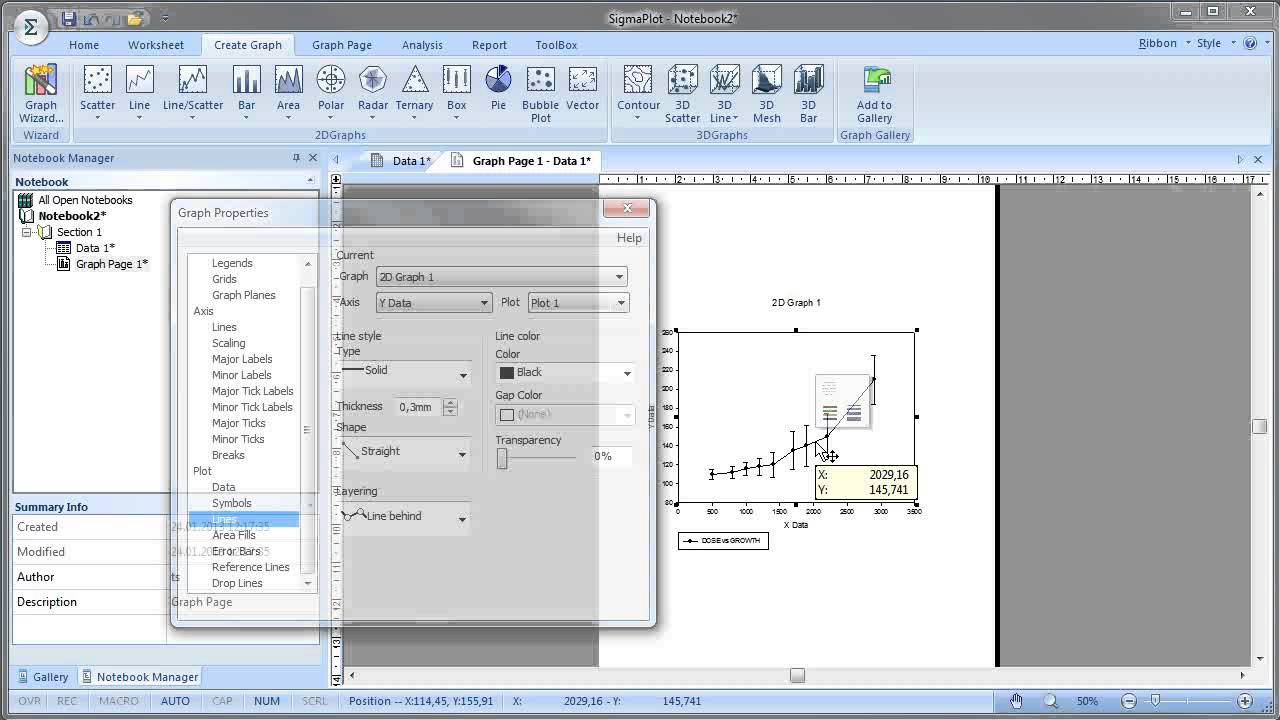 Working with SigmaPlot 14.0 full license