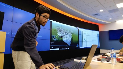 The Construction Visualization Laboratory at the McWhorter School of Building Science