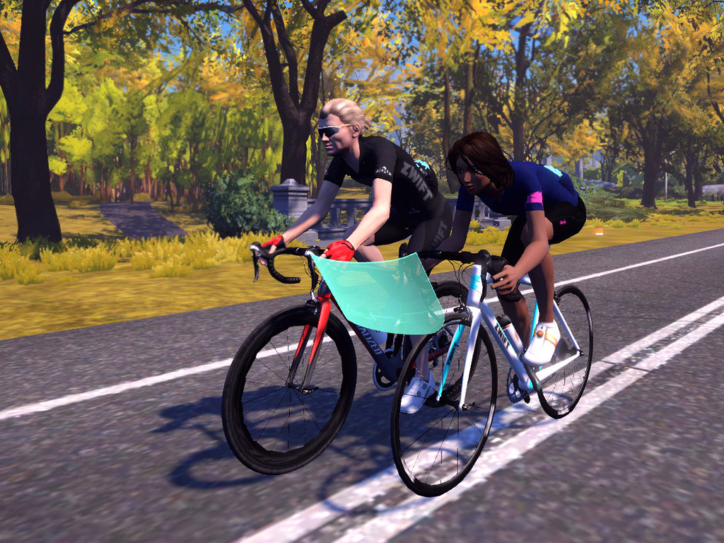 Happily finding diversity in the Zwift world