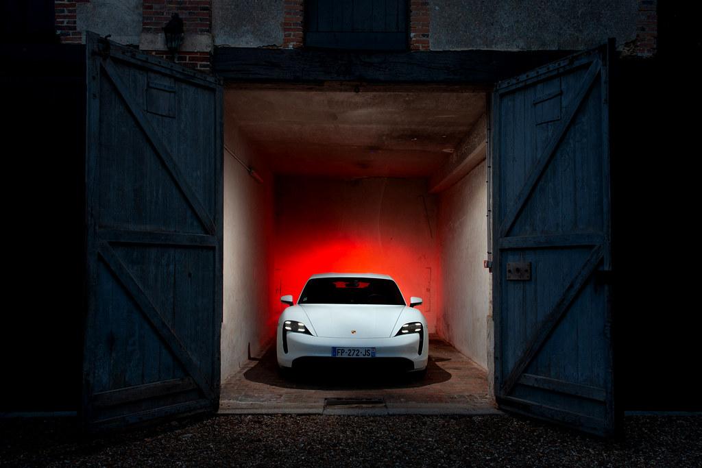 Essai Porsche Taycan sur Blog auto Cars Passion