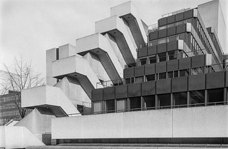 UCL Institute of Education, Thornhaugh St, Bloomsbury, Camden, 1987 87-2b-43-positive_2400 | by peter marshall